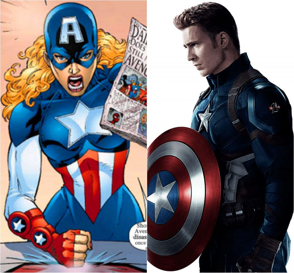Spoilers Alert! Marvel Has Officially Confirmed That 'Future Captain America' Will Be A Female
