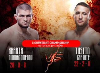 How to Watch Khabib Nurmagomedov vs Justin Gaethje: UFC 254 Live Stream, Watch Online