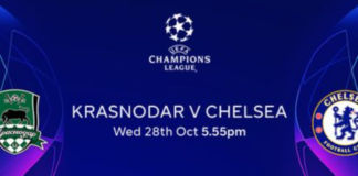 Krasnodar vs Chelsea Live Stream, Prediction, Team News, Champions League Live Date time and venue