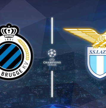 Watch LIVE: Club Brugge vs Lazio Live Stream, Prediction, Team News, Champions League Live Date time and venue
