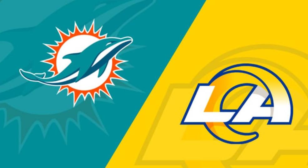 Dolphins vs Rams Live Stream, Prediction, Team News, NFL Live Stream, Date time and venue