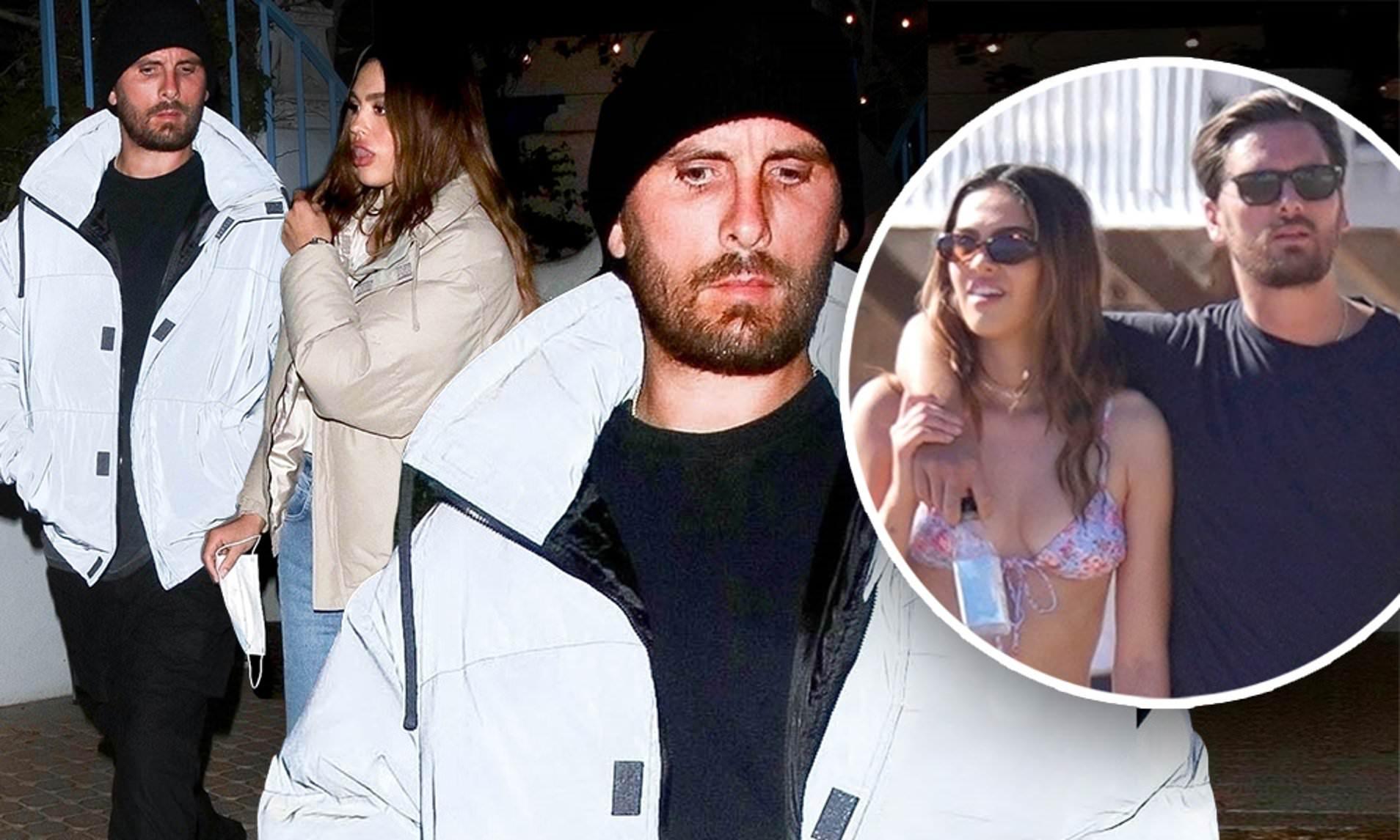 Kourtney Kardashian Reacts to Scott Disick Secret TEEN GF Amelia Hamlin