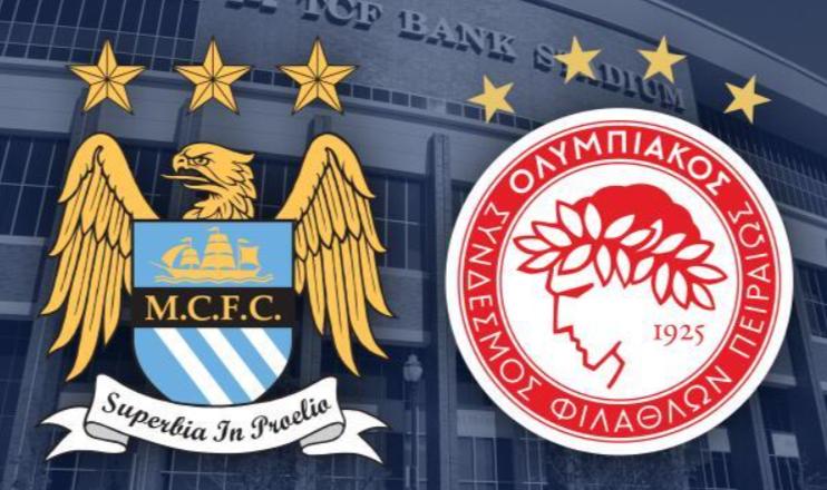 Man City vs Olympiakos LIVE Stream, Prediction, UEFA Live Stream, Team News and venue