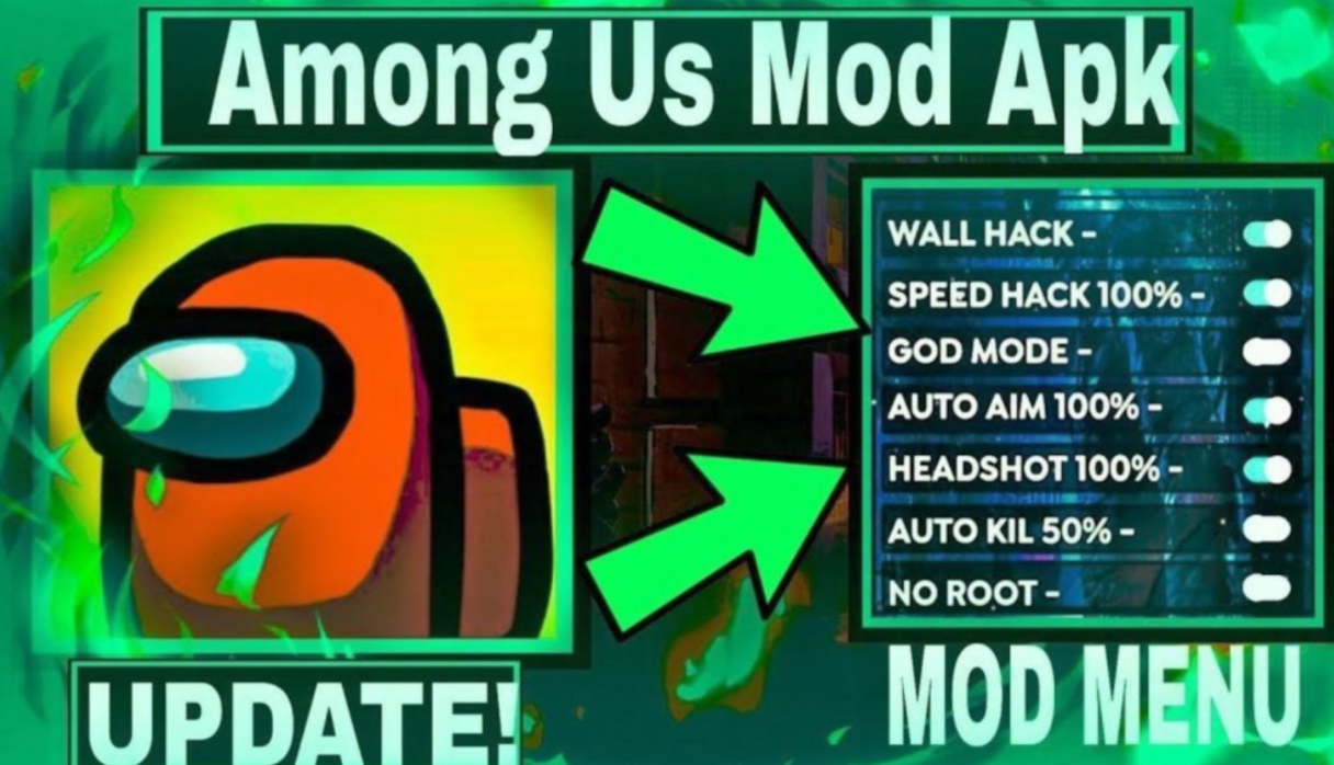 About AMONG US MOD APK MENU: ONE DESTINATION FOR ALL AMONG US Hack