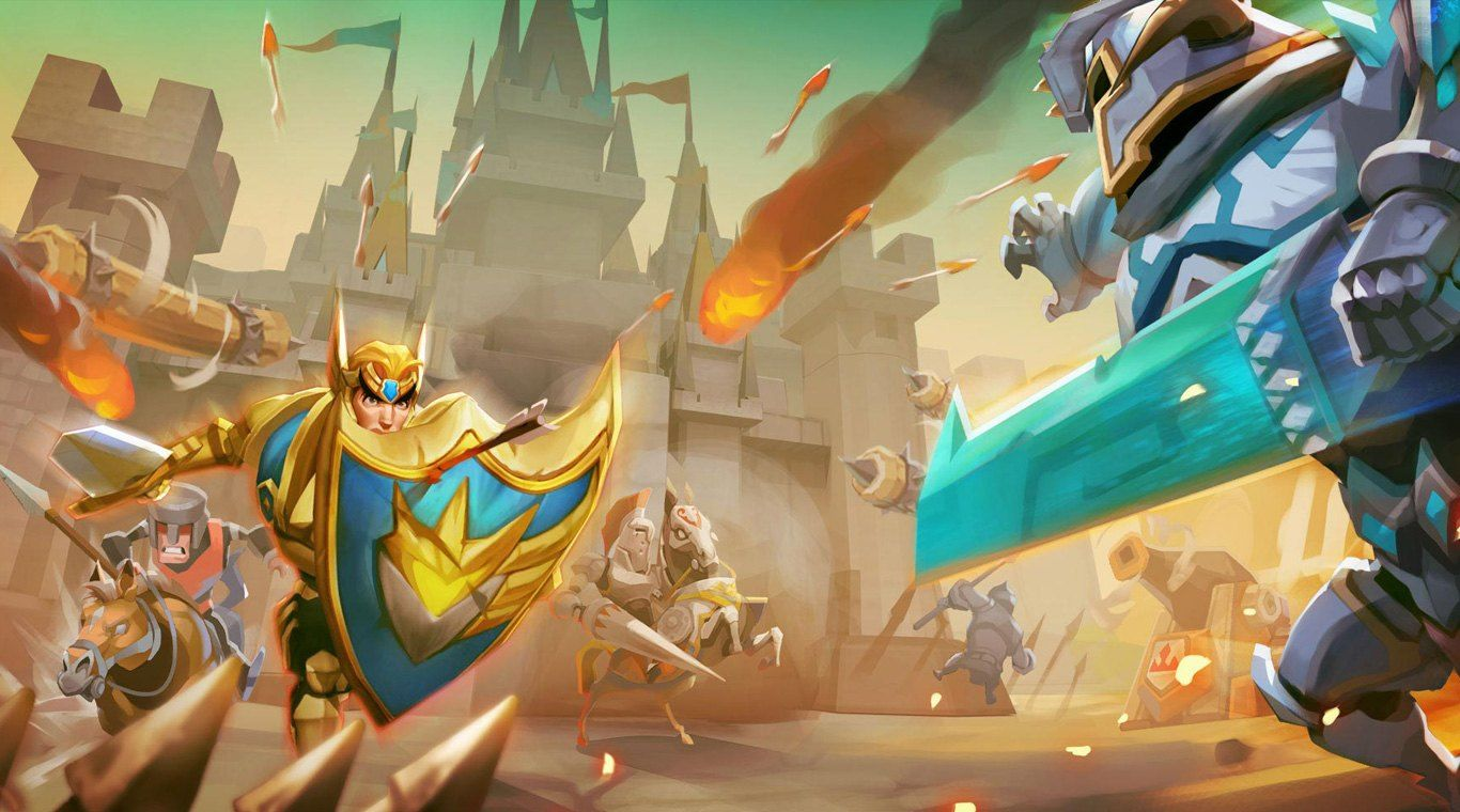 Lords Mobile Mod Apk v2.33 [Unlimited Money and Battles] for Android
