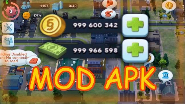SimCity BuildIt Mod APK [Unlimited keys, Currency, Free shopping] Download