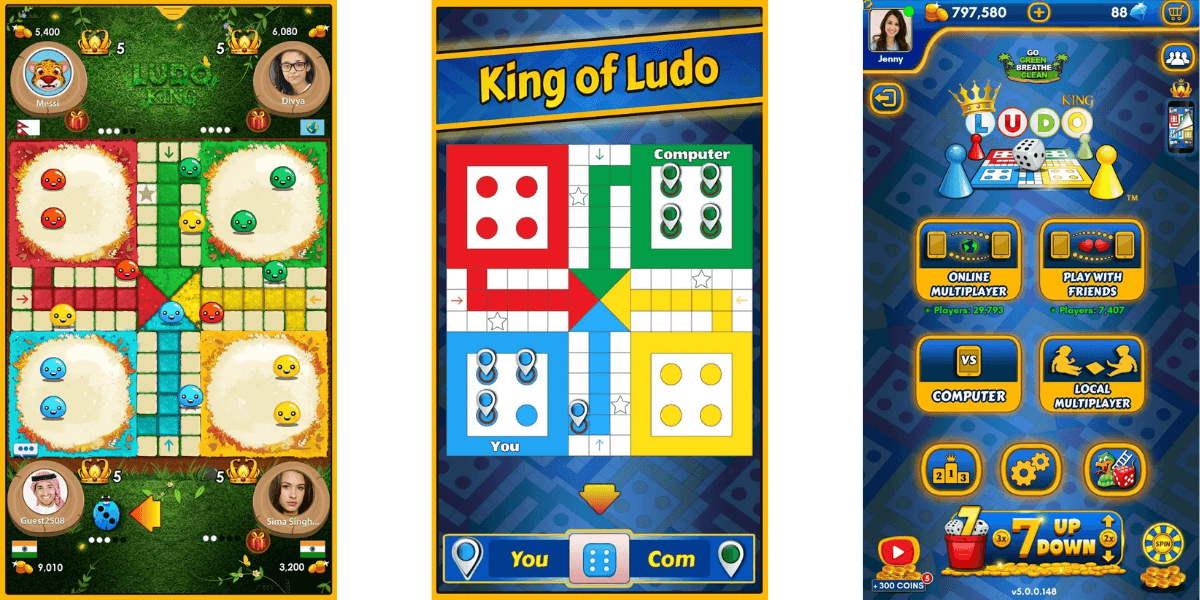 Ludo King MOD APK v5.6.0.171 [ UNLIMTED COINS, No Ad ] DOWNLOAD NOW