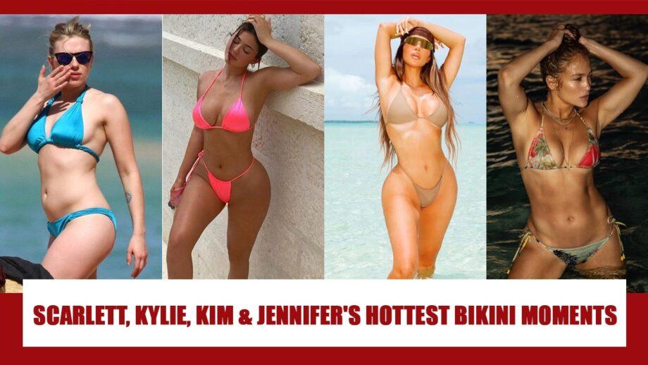 Scarlett Johansson, Kylie Jenner, Kim Kardashian, Jennifer Lopez: Best bikini photos to make you sweat