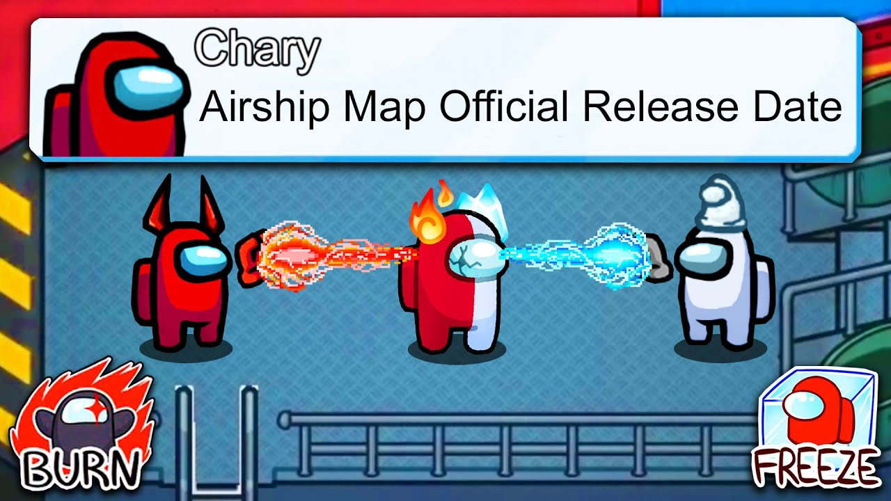 Among Us Airship Map Release Date, Trailer |How to Play Among Us Airship Map?