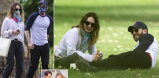 Is Chris Evans Secretly Dating Lily James?