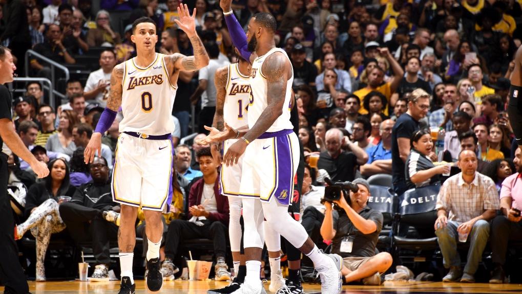 Lakers vs timberwolves