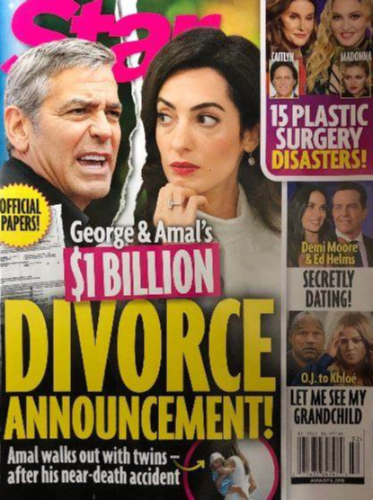George Clooney and Amal Clooney Divorce news? Reason behind the couple parting their ways?