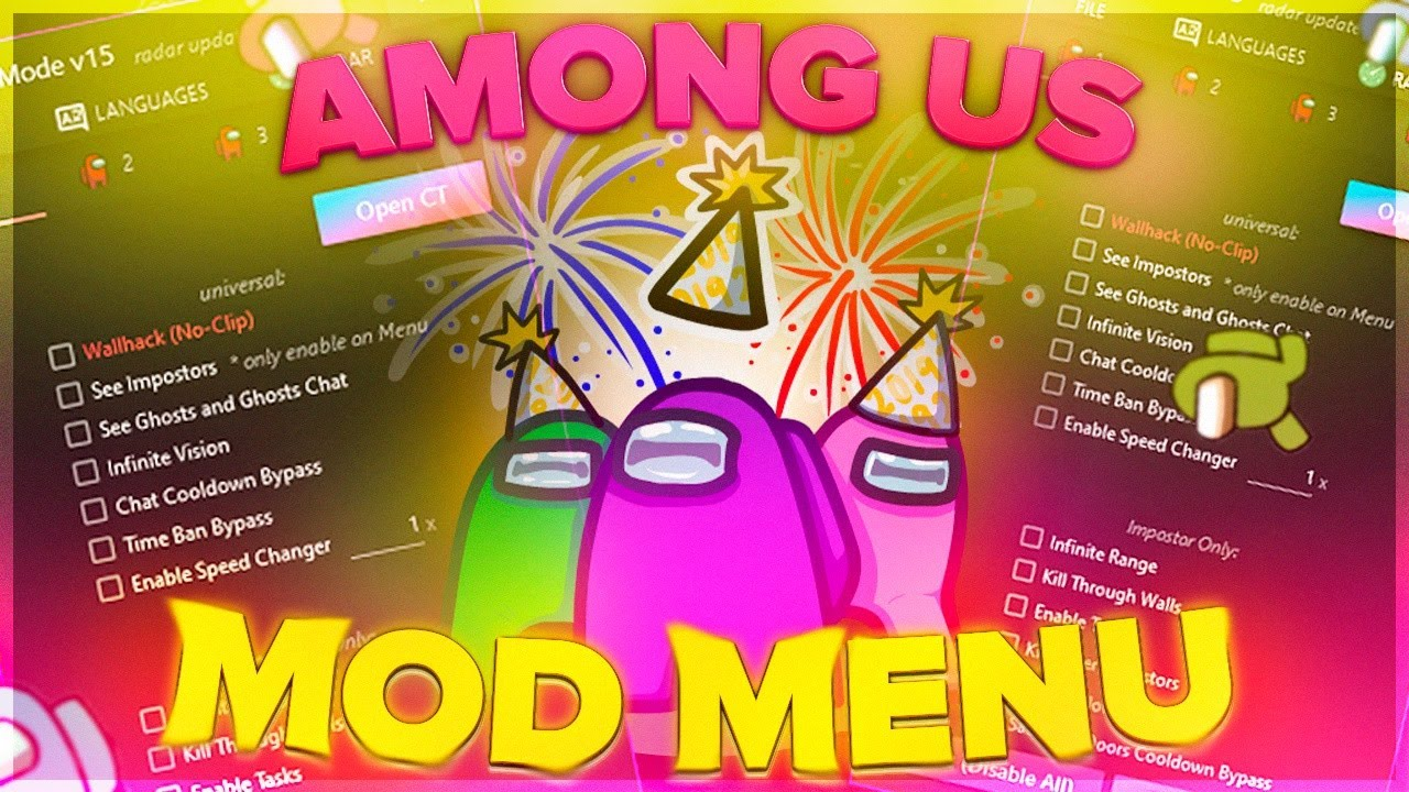 Among Us Mod Menu Hack Apk 2021.4.2 (Always Imposter, No Ban, All Skin Unlock and More) Download Link