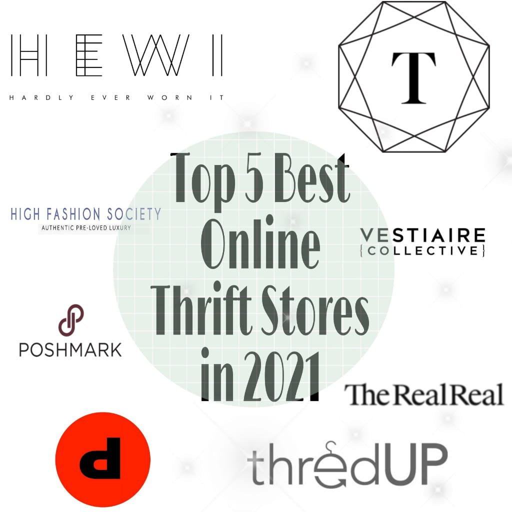 Top 5 Best Online Thrift Stores in 2021 For All the Frugal Buyers
