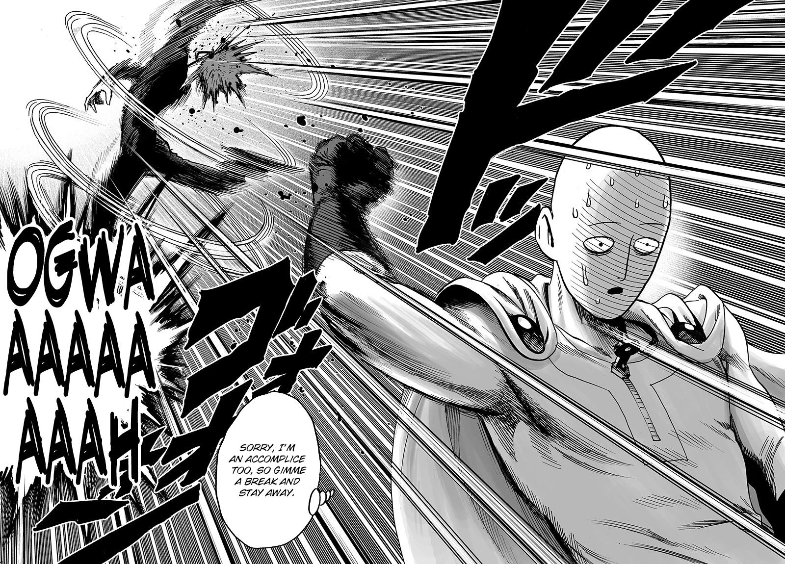 One Punch Man Chapter 144 READ MANGA !!!