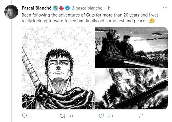 Will Berserk Manga End After death of It's Creator Kentaro Miura?
