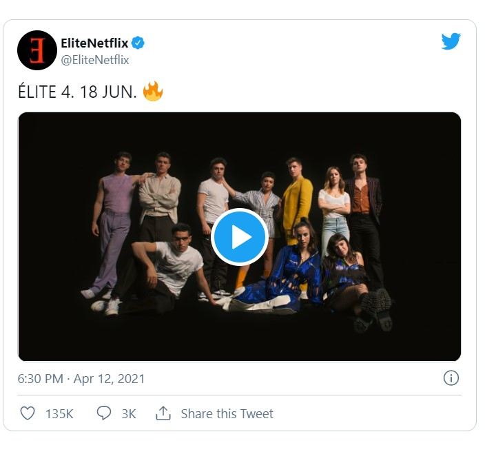 Elite Season 4 Trailer, Release date, Cast And What To Expect