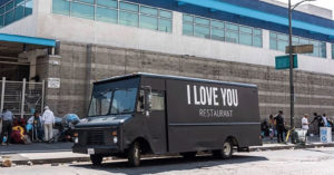 I Love you truck , Jaden Smith Opens Restaurant, Will serve Free Food To Homeless