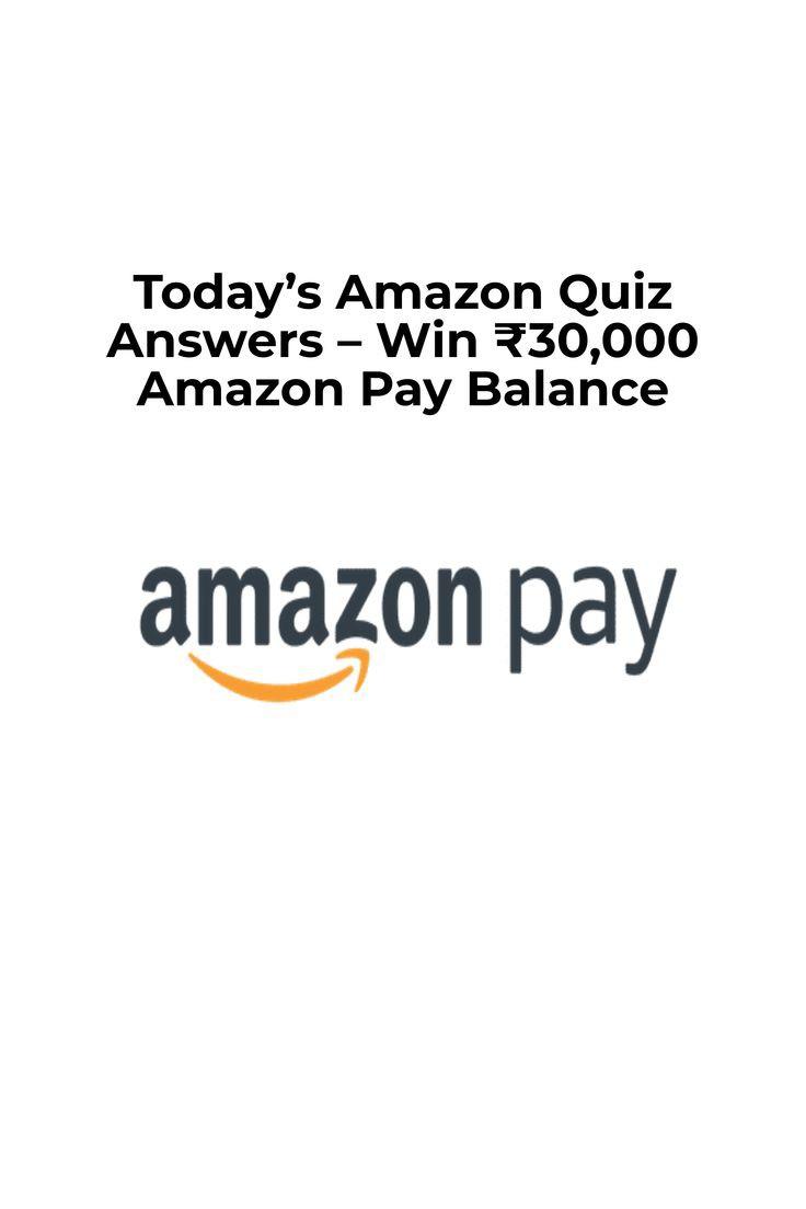 18th April Amazon quiz answers