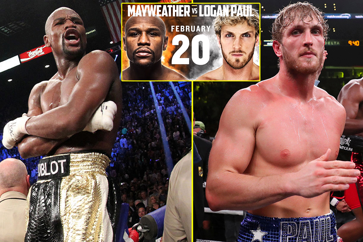 Floyd Mayweather vs Logan Paul , Fight Date and Time