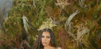 Kim Kardashian Nude Pose Photoshoot for SKIMS