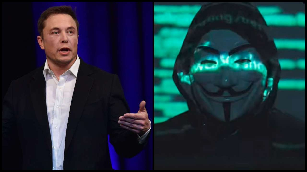 Elon Musk Threatens By 'Anonymous' Worlds biggest Hack group For Manipulation Of Bitcoin And His Tweet