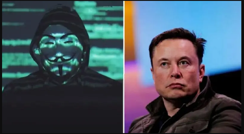 Hacker Group Anonymous Threatens Elon Musk for Manipulation of the Crypto market.