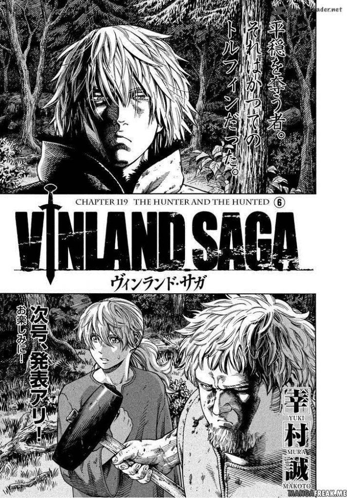 Vinland Saga chapter 184