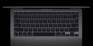 Realme Teases It's First Laptop Which similar to the Apple MacBook Air