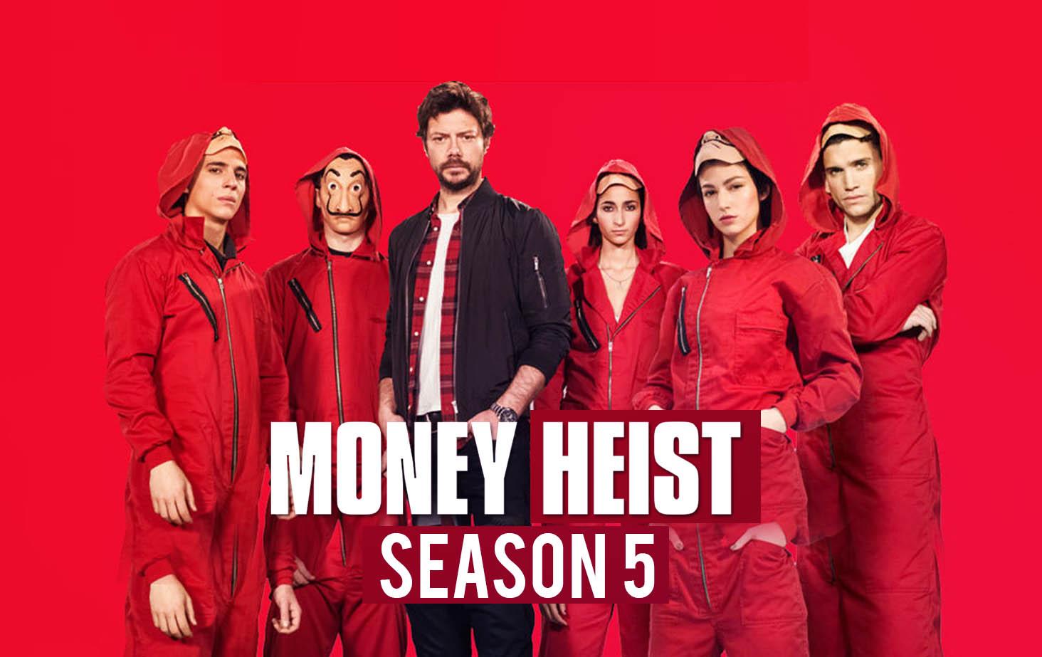 Money Heist Season 5 Vol 1: Release Date, Cast, Trailer, And Spoilers
