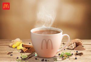 McDonald's India Innovates Its Menu With'Turmeric Latte', And 'Masala Kadak Chai'