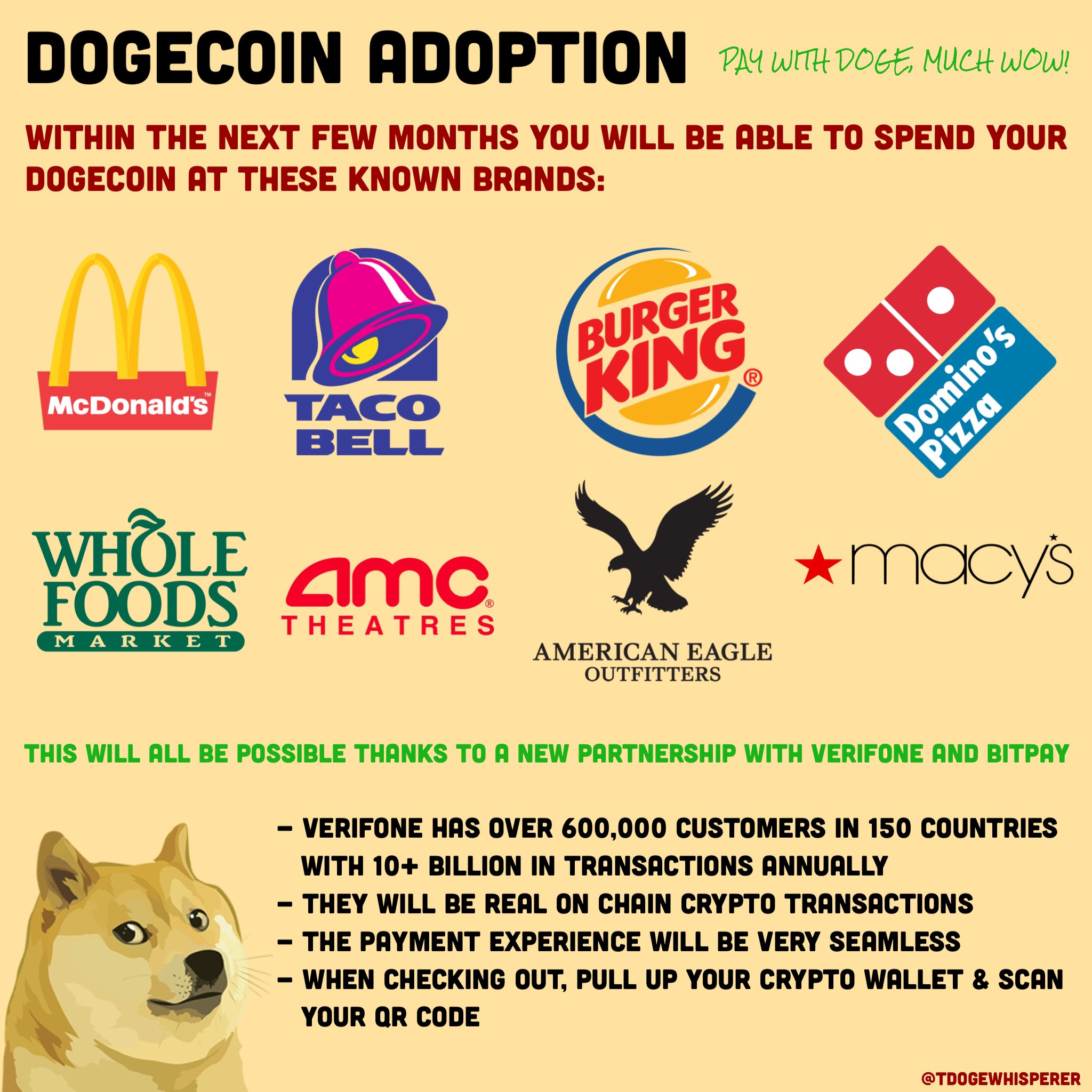 Taco Bell Accepting Dogecoin?