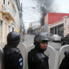 Guatemala City: Congress On Fire After Protesters Storm Building